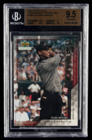 Tiger Woods 2002 Upper Deck Tiger Woods The Majors #TWM26 (BGS 9.5) at PristineAuction.com