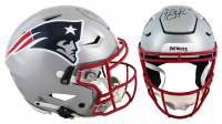 Randy Moss Signed Patriots Full-Size Authentic On-Field SpeedFlex Helmet (Beckett Hologram) at PristineAuction.com