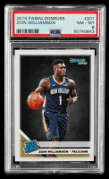 Zion Williamson 2019-20 Donruss #201 Rated Rookie RC (PSA 8) at PristineAuction.com