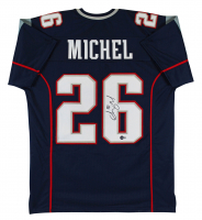 Sony Michel Signed Jersey (Beckett Hologram) at PristineAuction.com