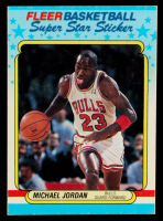 Michael Jordan 1988-89 Fleer Stickers #7 at PristineAuction.com