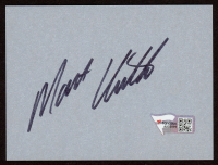 "Matt Kenseth Signed 3"" x 4"" Cut (Fanatics Hologram) at PristineAuction.com"