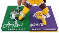 Magic Johnson & Larry Bird Signed LE Bobblehead (Beckett Hologram) at PristineAuction.com