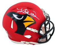 Kurt Warner Signed Cardinals AMP Alternate Speed Mini Helmet (Beckett Hologram) at PristineAuction.com