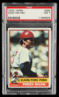 Carlton Fisk 1976 Topps #365 (PSA 7) at PristineAuction.com