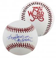 "Reggie Jackson Signed 1978 World Series 75th Anniversary Baseball Inscribed ""Mr. October"" (Beckett COA) at PristineAuction.com"