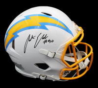 Austin Ekeler Signed Chargers Full-Size Authentic On-Field Speed Helmet (Radtke COA) at PristineAuction.com