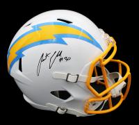 Austin Ekeler Signed Chargers Full-Size Speed Helmet (Radtke COA) at PristineAuction.com