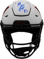 Rob Gronkowski Signed Patriots Full-Size Lunar Eclipse Alternate Authentic On-Field SpeedFlex Helmet (Radtke COA) at PristineAuction.com