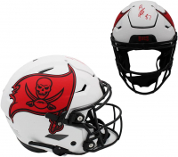 Rob Gronkowski Signed Buccaneers Full-Size Lunar Eclipse Alternate Authentic On-Field SpeedFlex Helmet (Radtke COA) at PristineAuction.com
