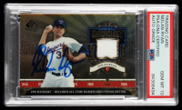 Nolan Ryan Signed 2006 SP Legendary Cuts Baseball Chronology Materials #NR3 7th No-Hitter Jersey (PSA Encapsulated) at PristineAuction.com