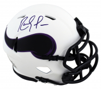 Randy Moss Signed Vikings Lunar Eclipse Alternate Speed Mini Helmet (Beckett COA) at PristineAuction.com