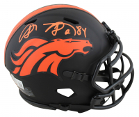 Shannon Sharpe Signed Broncos Eclipse Alternate Speed Mini Helmet (Beckett Hologram) at PristineAuction.com