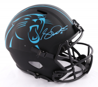 Sam Darnold Signed Panthers Full-Size Eclipse Alternate Speed Helmet (Beckett COA & Darnold Hologram) at PristineAuction.com