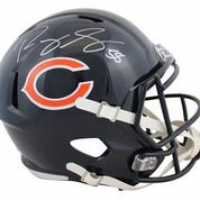Roquan Smith Signed Bears Full-Size Speed Helmet (Beckett Hologram) at PristineAuction.com