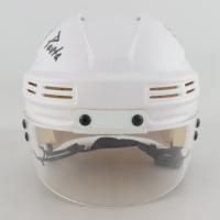 "David Pastrnak Signed Bruins Mini Helmet Inscribed ""Pasta"" (Pastrnak COA & YSMS Hologram) at PristineAuction.com"