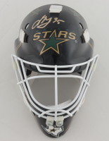Anton Kuhdobin Signed Stars Mini Goalie Mask (Kuhdobin COA) at PristineAuction.com