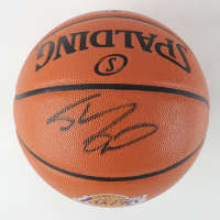Shaquille O'Neal Signed Lakers Logo NBA Game Ball Series Basketball (Schwartz COA) at PristineAuction.com