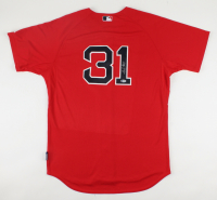 Jon Lester Signed Red Sox Jersey (Beckett COA) (See Description) at PristineAuction.com
