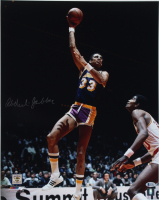 Kareem Abdul-Jabbar Signed Lakers 16x20 Photo (Beckett COA) at PristineAuction.com