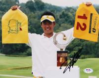 Hideki Matsuyama Signed 8x10 Photo (PSA COA) at PristineAuction.com