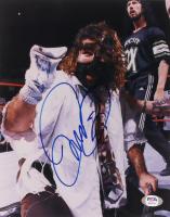 "Mick Foley Signed ""Mankind"" 8x10 Photo (PSA COA) at PristineAuction.com"