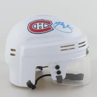 Brendan Gallagher Signed Canadiens Logo Mini-Helmet (Gallagher COA) at PristineAuction.com