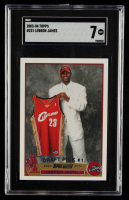 LeBron James 2003-04 Topps #221 RC (SGC 7) at PristineAuction.com