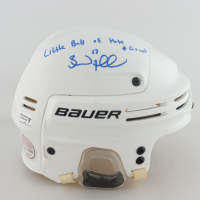 """Brad Marchand Signed Full-Size Hockey Helmet Inscribed """"Little Ball of Hate and Great"""" (Marchand COA) at PristineAuction.com"""