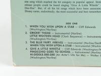 """Vintage 1963 Walt Disney's """"Pinocchio"""" Original Soundtrack Vinyl LP Record Album (See Description) at PristineAuction.com"""