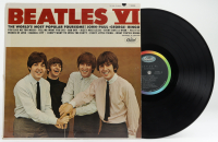 "Vintage The Beatles ""Beatles VI"" Vinyl Record Album (See Description) at PristineAuction.com"