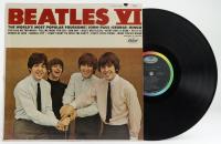 """Vintage The Beatles """"Beatles VI"""" Vinyl Record Album (See Description) at PristineAuction.com"""