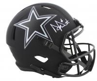 Dak Prescott Signed Cowboys Eclipse Alternate Speed Full-Size Helmet (Beckett Hologram) at PristineAuction.com