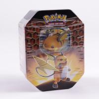 Pokemon TCG: Sun & Moon Hidden Fates Collector's Tin - Raichu - GX at PristineAuction.com