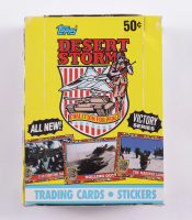 1991 Topps Desert Storm Coalition for Peace Victory Series with (36) Packs (See Description) at PristineAuction.com