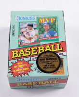 1991 Donruss Series 2 Baseball Canadian Wax Box with (36) Packs (See Description) at PristineAuction.com