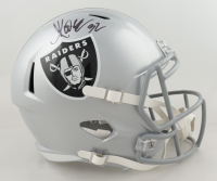 Marcus Allen Signed Raiders Full-Size Speed Helmet (Beckett Hologram) at PristineAuction.com