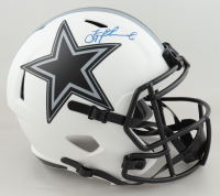 Troy Aikman Signed Cowboys Full-Size Lunar Eclipse Alternate Speed Helmet (Beckett Hologram & Aikman Hologram) at PristineAuction.com