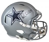 Michael Irvin Signed Cowboys Full-Size Speed Helmet (Beckett Hologram) at PristineAuction.com
