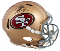 Patrick Willis Signed 49ers Full-Size Speed Helmet (Beckett COA) at PristineAuction.com