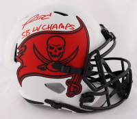 "Ronald Jones II Signed Buccaneers Full-Size Lunar Eclipse Alternate Speed Helmet Inscribed ""SB LV Champs"" (Beckett COA) at PristineAuction.com"