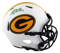 Davante Adams Signed Packers Full-Size Lunar Eclipse Alternate Speed Helmet (Beckett Hologram) at PristineAuction.com