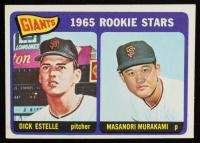 Dick Estelle / Masanori Murakami 1965 Topps #282 Rookie Stars RC at PristineAuction.com
