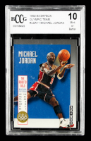 Michael Jordan 1992-93 SkyBox Olympic Team #USA11 (BCCG 10) at PristineAuction.com