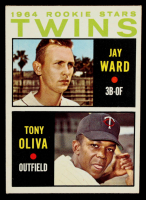 Jay Ward / Tony Oliva 1964 Topps #116 Rookie Stars RC at PristineAuction.com