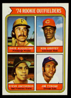 Dave Augustine / Ken Griffey / Steve Ontiveros / Jim Tyrone 1974 Topps #598 Rookie Outfielders RC at PristineAuction.com