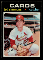 Ted Simmons 1971 Topps #117 RC at PristineAuction.com