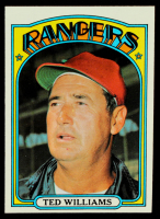 Ted Williams 1972 Topps #510 MG at PristineAuction.com