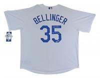 "Cody Bellinger Signed Dodgers Jersey Inscribed ""2020 WS Champs"" (Fanatics Hologram & MLB Hologram) at PristineAuction.com"