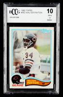 Walter Payton 1982 Topps #30 (BCCG 10) at PristineAuction.com